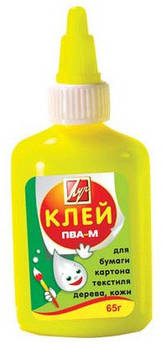 Клей ПВА-М Луч 65 г в желтом флаконе 20С1352-08