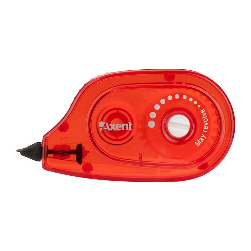 Корректор ленточный Axent 5ммX6м бордовый 7009-05-A