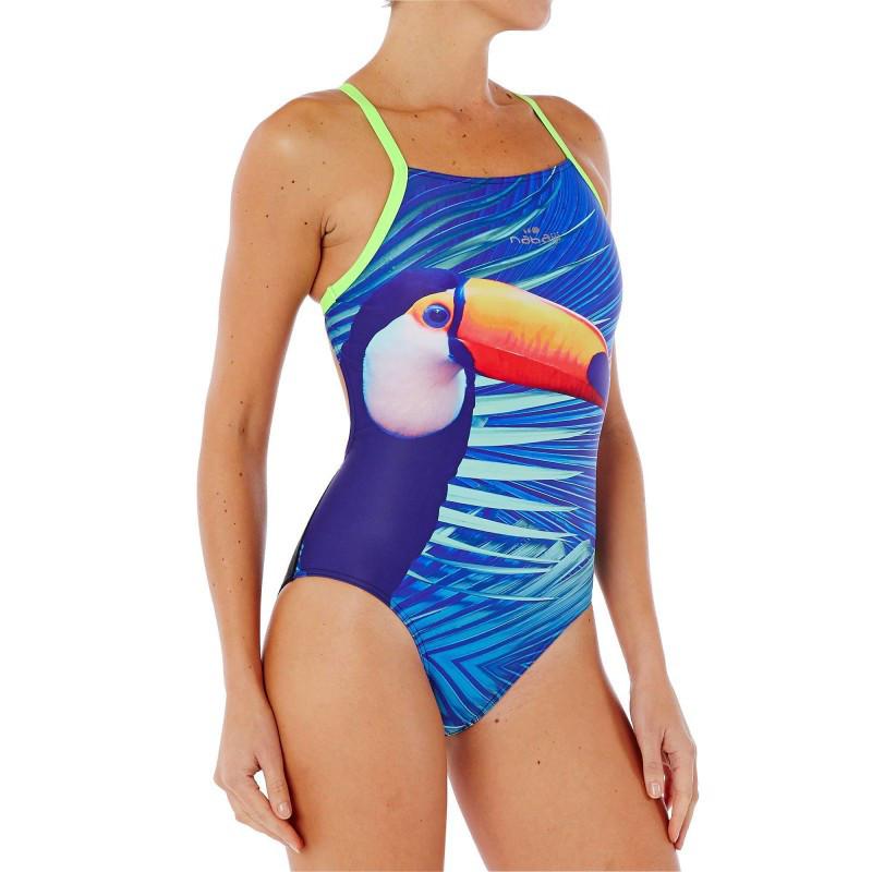 Strój jednoczęściowy pływacki Lidia Toucan damski