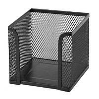Подставка для блока бумаги Axent 100х100x100мм метал.,черный 2112-01-A