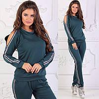 Женский  спортивный костюм р.42-44-46-48 оптом, фото 1
