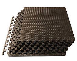 Модульне покриття для тренажерних і кросфіт залів 200 kg / m3