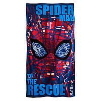 Детское пляжное полотенце Спайдермен Spider-Man Beach Towel for Kids