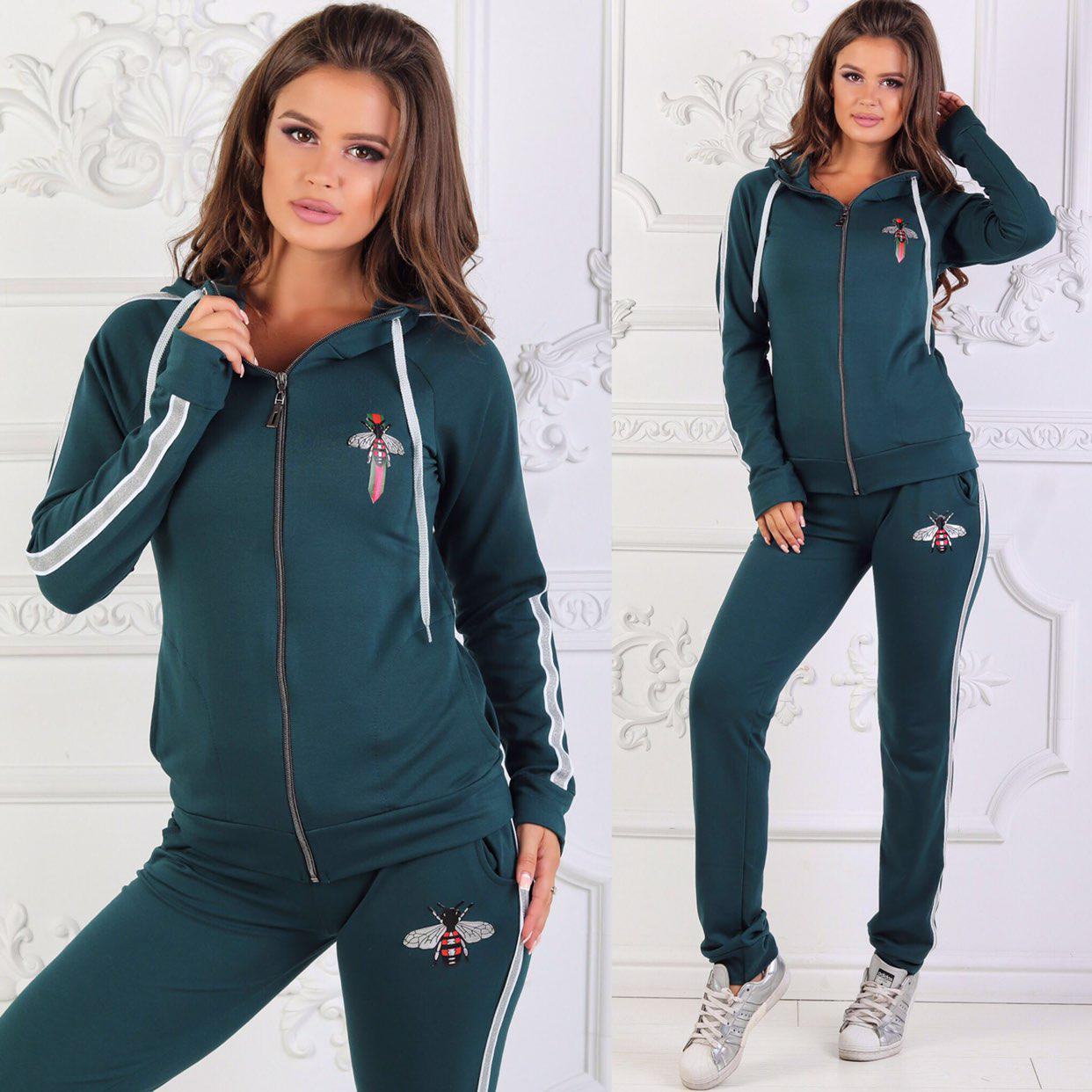 Женский  спортивный костюм GUCCI р.42-44-46-48 оптом