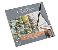 Набор карандашей для рисунка Creativo 27шт. мет упаковка Cretacolor