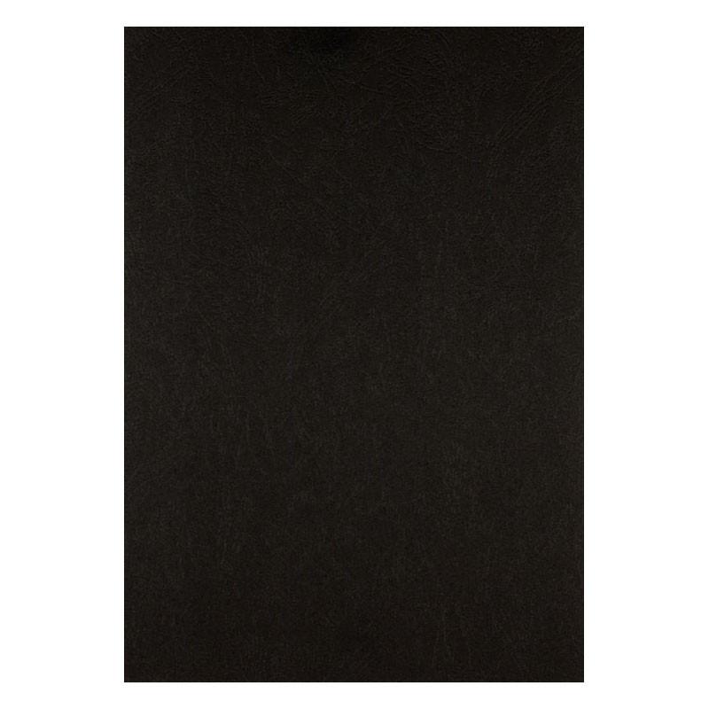 Обложка для брошуровщика Axent А4 под кожу картон 50шт черная 2730-01-A
