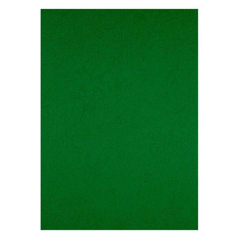 Обложка для брошуровщика Axent А4 под кожу картон 50шт зеленая 2730-04-A