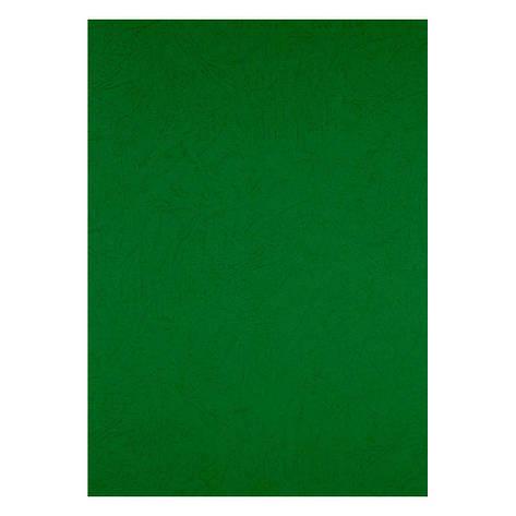 Обложка для брошуровщика Axent А4 под кожу картон 50шт зеленая 2730-04-A, фото 2
