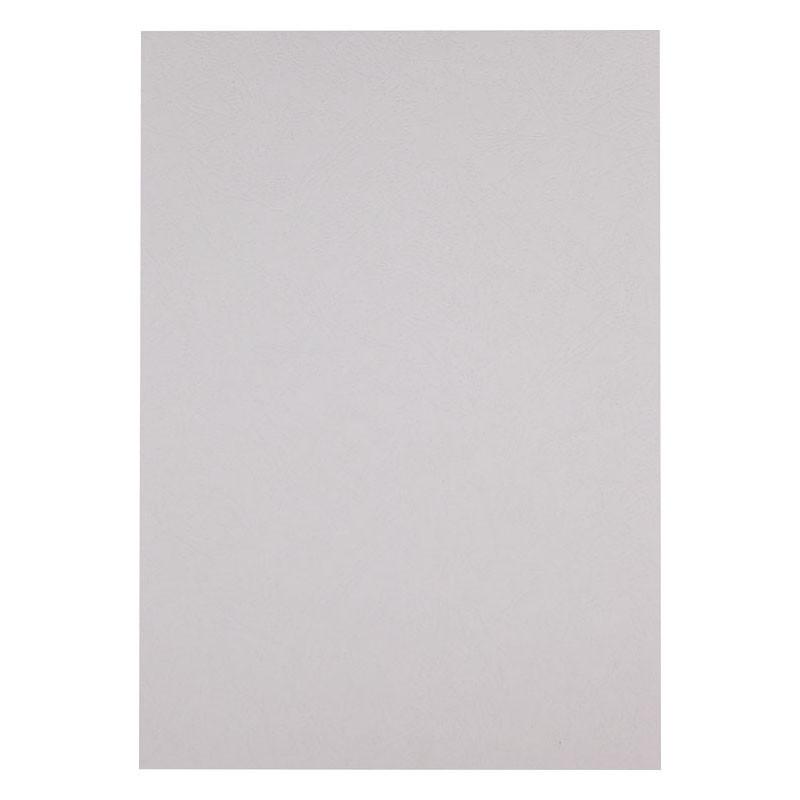 Обложка для брошуровщика Axent А4 под кожу картон 50шт белая 2730-21-A