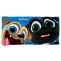 Детское пляжное полотенце Дружные мопсы         Puppy Dog Pals Beach Towel for Kids