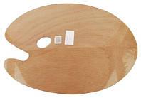 Палитра деревянная овальная 40х50см. толщина 3мм. D.K.ART & CRAFT