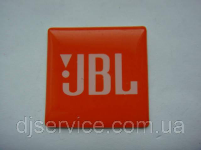 Шильдик JBL 30x30mm на сетку колонки