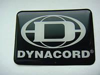 Шильдик Dynacord (самоклеющийся)на сетку колонки, фото 1