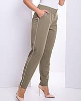 dac79d1db86 Женские брюки цвета хаки больших размеров (Бенефис lzn)