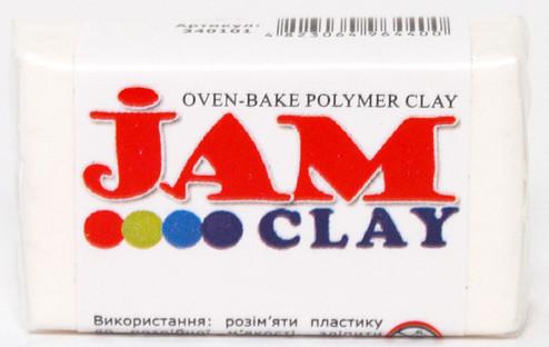 Пластика Jam Clay Зефир Белый 20г