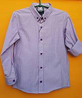 Рубашки подростковые приталенные с длинным рукавом трансформеры (4-9 лет) САДИК+ШКОЛА  производство Турции