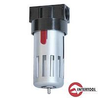 """Фильтр для очистки воздуха в металле Intertool PT-1401, 1/2"""" (PT-1401)"""