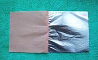 Поталь свободная Серебро 14x14см Trim 25лист DK25202
