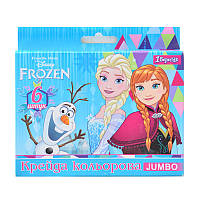 Мел асфальтный, 6 шт ''Frozen''
