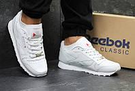 Кроссовки рибок классик белые кожаные повседневные для спорта (реплика) Reebok  Classic White Leather d3e937cfefe
