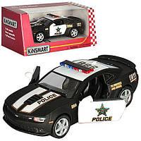Машина метал. Chevrolet Camaro PoliceKT5383WP