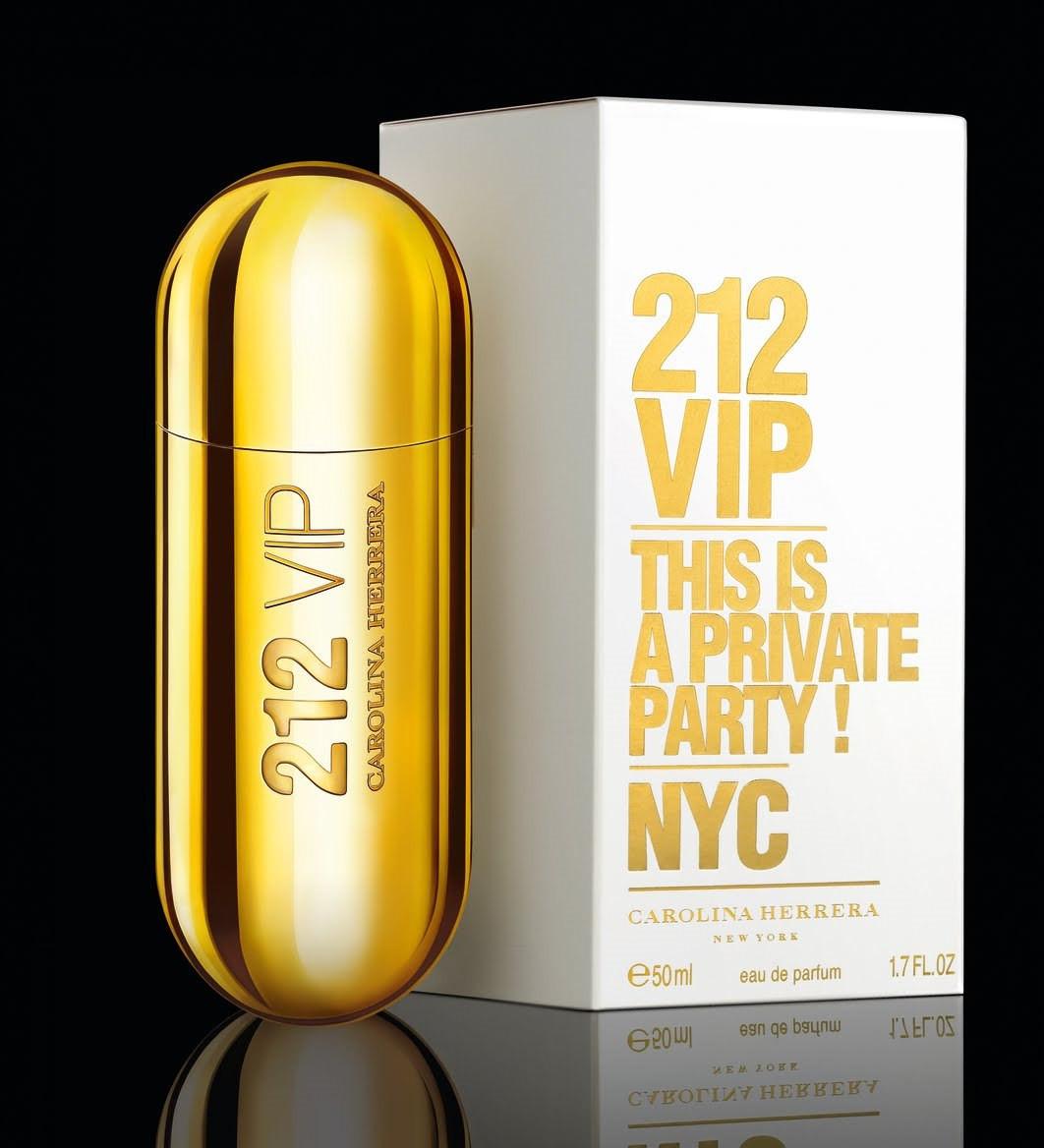 Carolina Herrera 212 VIP (Каролина Херрера 212 Вип), женская парфюмированная вода, 80 ml копия