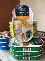 Филе сельди Fjordens Herings Filets In Senf-Dijon-Creme (в мягком горчичном соусе) 200г