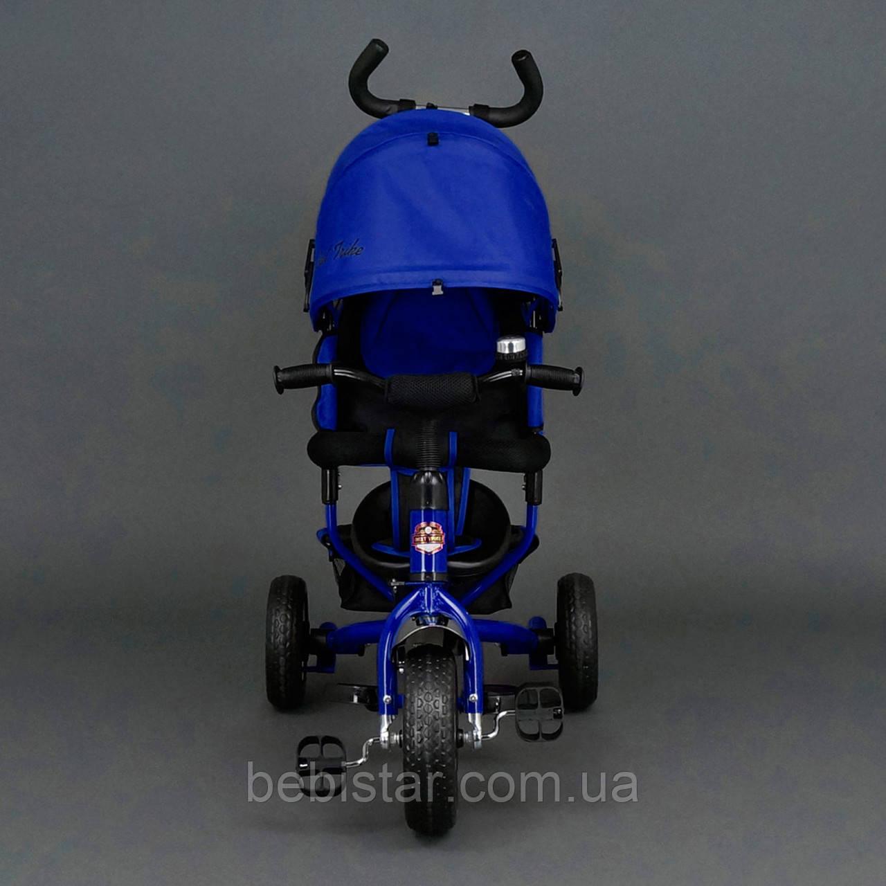 """Детский трехколесный велосипед """"Best Trike 6588"""" сине-черный"""