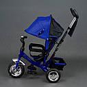 """Детский трехколесный велосипед """"Best Trike 6588"""" сине-черный, фото 3"""