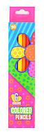 Карандаши 6 цв. ''Happy colors''