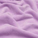 Однотонный ХБ велюр светло-сиреневого цвета, фото 6