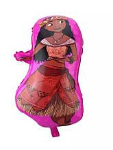 Фольгированный фигурный шар Бесстрашная Моана. Дочь вождя.