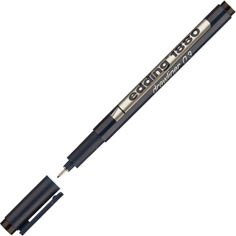 Линер для черчения Edding рапидограф drawliner 0,35мм e-1880/03