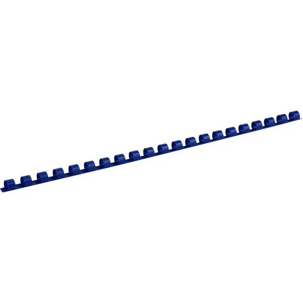 Пружины для брошуровщика Axent пластик d 8 мм синяя 100 шт 2908-02-A