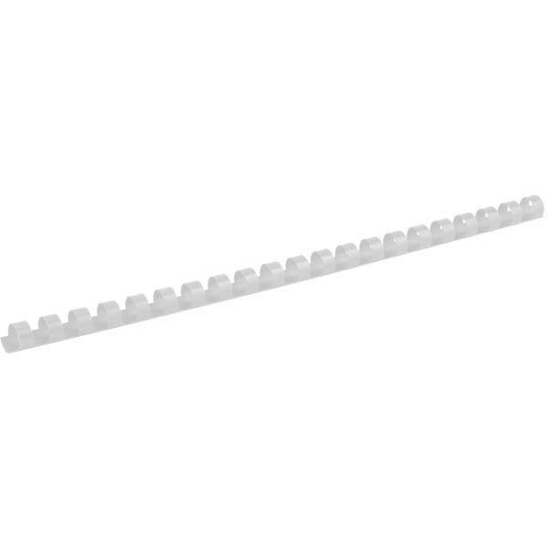 Пружины для брошуровщика Axent пластик d 12 мм белая 100 шт 2912-21-A