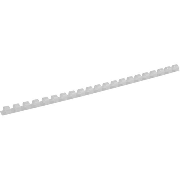Пружины для брошуровщика Axent пластик d 10 мм белая 100 шт 2910-21-A