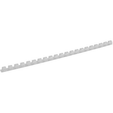 Пружины для брошуровщика Axent пластик d 10 мм белая 100 шт 2910-21-A, фото 2