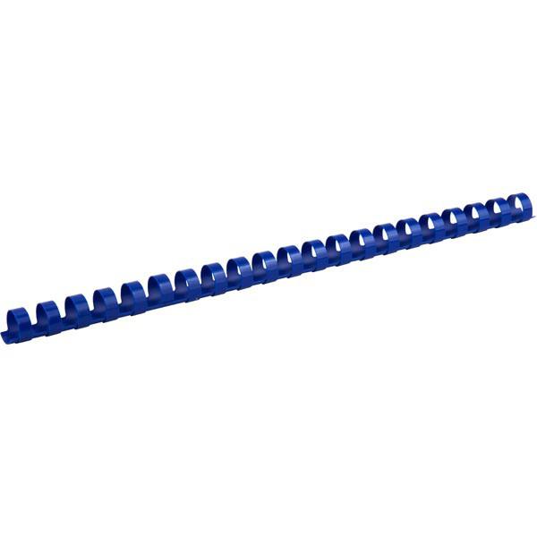 Пружины для брошуровщика Axent пластик d 14 мм синяя 100 шт 2914-02-A