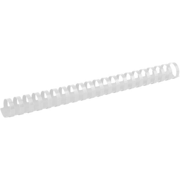 Пружины для брошуровщика Axent пластик d 25 мм белая 50 шт 2925-21-A