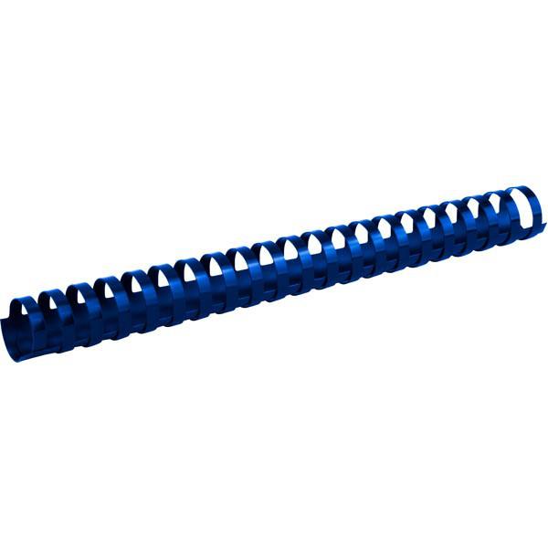 Пружины для брошуровщика Axent пластик d 28 мм синяя 50 шт 2928-02-A