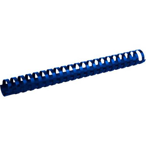 Пружины для брошуровщика Axent пластик d 28 мм синяя 50 шт 2928-02-A, фото 2