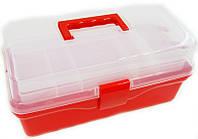 Арт-бокс для художественных материалов 36х20х16 см пластиковый D.K.ART & CRAFT 6926586613608