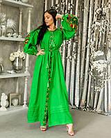 Платье вышиванка в стиле бохо с колоритной вышивкой d478c5aa7cce7