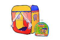 Детская игровая палатка домик ( куб ) 1402. Ребенок сможет комфортно играть в палатке.
