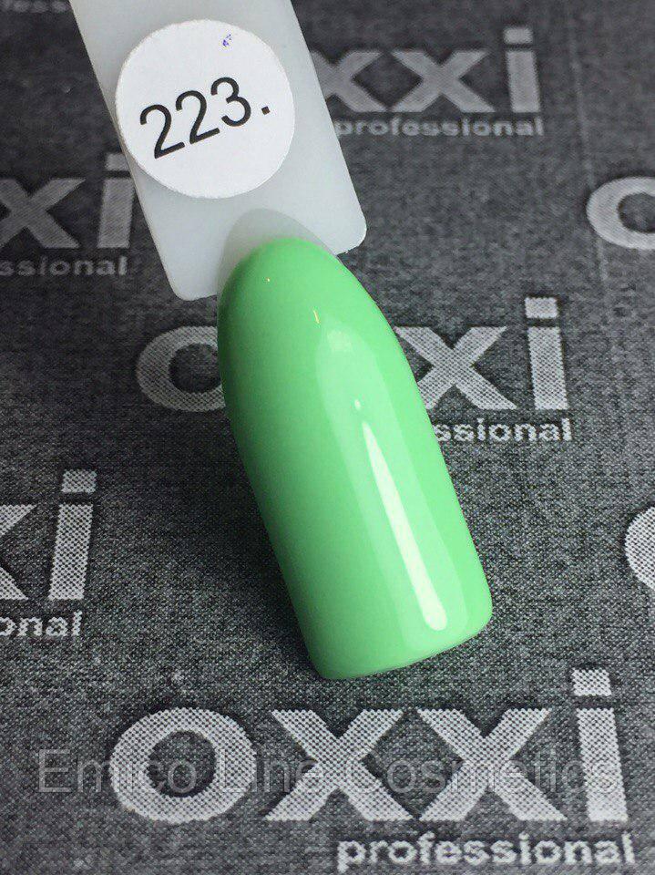 Гель-лак Oxxi Professional № 223