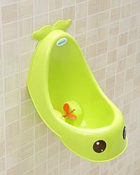 Писсуар для мальчиков Babyhood BH-104 синий/зелёный