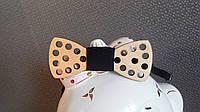 Детская деревянная галстук - бабочка усы