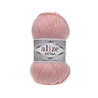 Пряжа для ручного и машинного  вязания Alize EXTRA (Экстра) акрил  363 светло-розовый