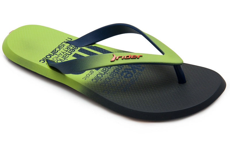 Оригинал Шлепанцы мужские 82364-24193 Rider R1 Energy Plus Blue/Green/Orange