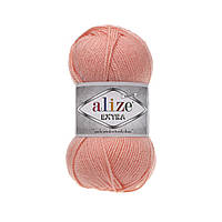 Пряжа для ручного и машинного  вязания Alize EXTRA (Экстра) акрил  145 персиковый